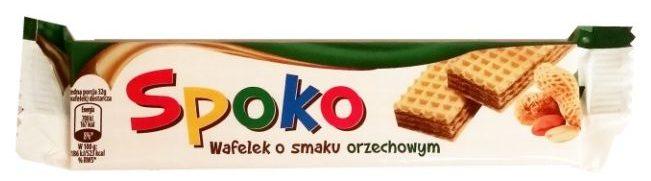 Wacuś, Spoko Wafel orzechowy, batonik bez czekolady z kremem orzechowym, copyright Olga Kublik