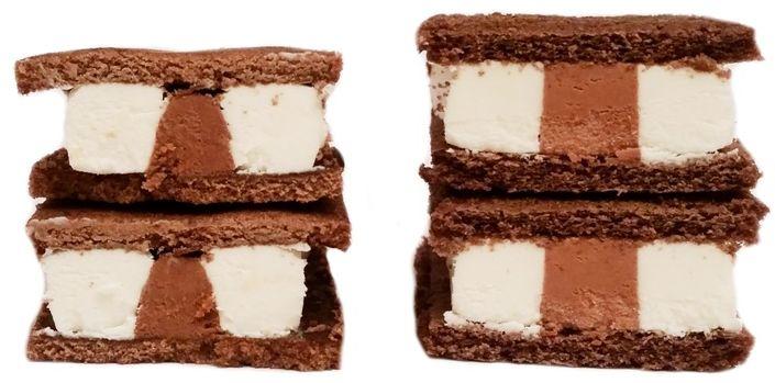 Bitwa kanapek mlecznych Monte Snack Zott vs Mullermilch Snack czekoladowy Muller, copyright Olga Kublik