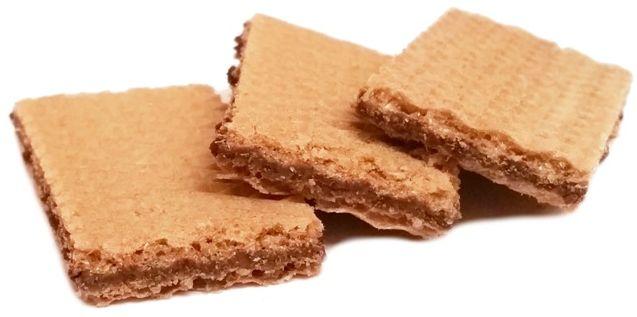 Loacker, Sandwich Dark Chocolate, kruche wafelki z kremem o smaku ciemnej czekolady, copyright Olga Kublik