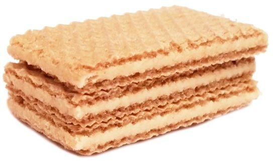 Loacker, Sandwich Milk-Vanilla, kruche wafelki z kremem o smaku melczno-waniliowym, copyright Olga Kublik