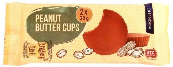 Millano-Baron, Magnetic Peanut Butter Cups, babeczki z mlecznej czekolady z masłem orzechowym, słodycze z Biedronki, copyright Olga Kublik