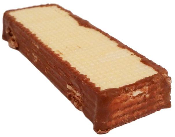 Tastino, Apeninky wafle z kremem mlecznym częściowo oblane mleczną czekoladą, słodycze z Lidla, Góralki marki własnej, copyright Olga Kublik