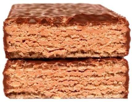 Goplana, Grześki kakaowe w czekoladzie, kruche batoniki w ciemnej polewie, wafelki w czekoladzie deserowej, copyright Olga Kublik