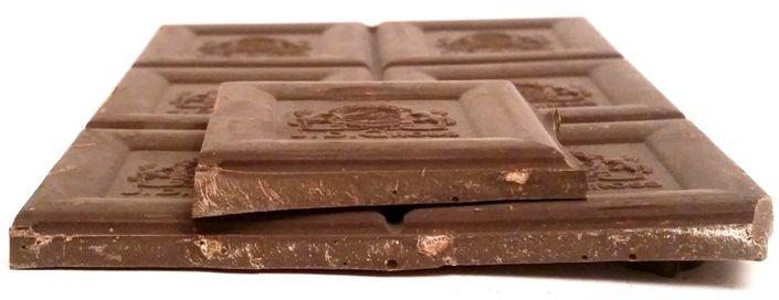 J. D. Gross, czekolada gorzka Ekwador 70 z kandyzowana skórką pomarańczową, ciemna czekolada pomarańczowa z Lidla, copyright Olga Kublik