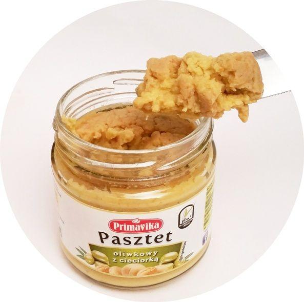 Primavika, pasztet oliwkowy z cieciorka, wegańska pasta z ciecierzycą, copyright Olga Kublik