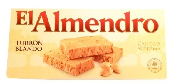 El Almendro, Turron Blando, hiszpański nugat z migdałów, copyright Olga Kublik