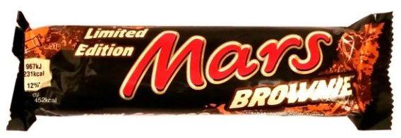 Mars, Mars Brownie, czekoladowy baton z karmelem i nadzieniem o smaku czekoladowego ciasta, copyright Olga Kublik