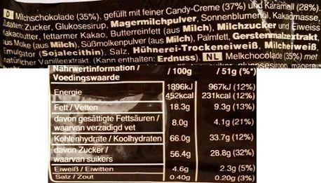 Mars, Mars Brownie, czekoladowy baton z karmelem i nadzieniem o smaku czekoladowego ciasta, skład i wartości odżywcze, copyright Olga Kublik