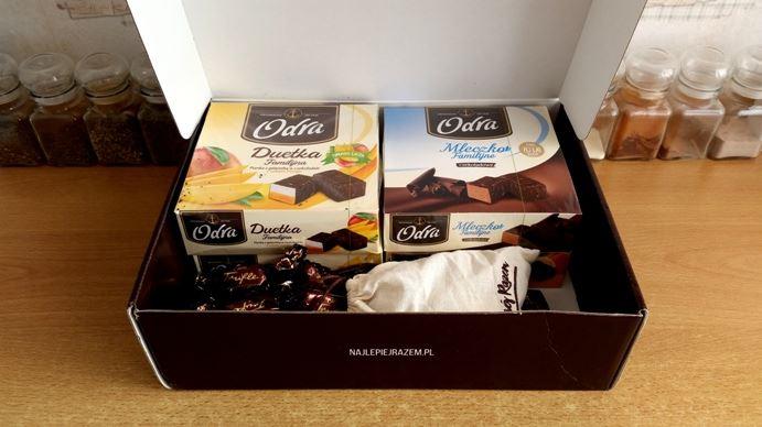 Słodycze marki Odra: galaretki, pianki, trufle