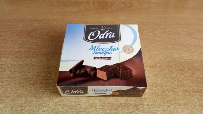 Odra, Mleczko Familijne czekoladowe