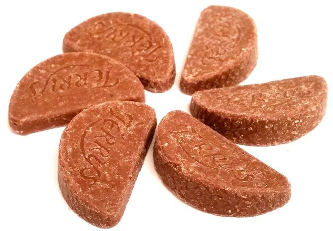 Terry's, Chocolate Orange Minis Exploding Candy, pomarańczowe czekoladki ze strzelającymi cukierkami, copyright Olga Kublik