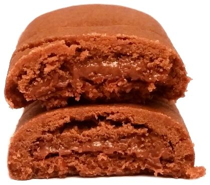 Milka, Choco Crunchy Break, kakaowe herbatniki z nadzieniem, kruche ciastka z kremem orzechowo-czekoladowym, copyright Olga Kublik