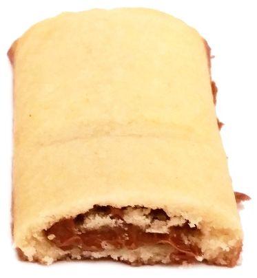Milka, Crunchy Break, herbatniki z nadzieniem czekoladowym, kruche ciastka z kremem orzechowym, copyright Olga Kublik