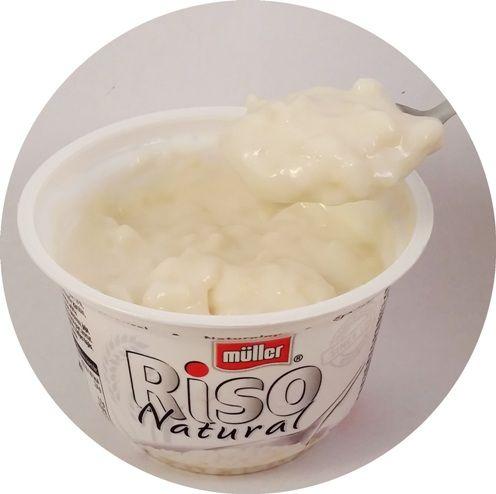Muller, Riso Natural, ryż na mleku o smaku naturalnym mlecznym, copyright Olga Kublik