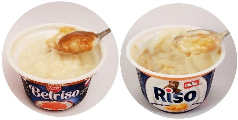 Zott, Belriso Karmel, Muller, Riso Karmel, ryż na mleku z sosem karmelowym, gęsty deser mleczny, copyright Olga Kublik