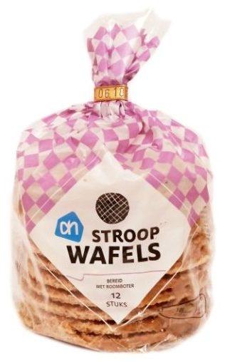 Albert Heijn, Stroopwafels, holenderskie ciastka korzenne z nadzieniem karmelowym toffi, copyright Olga Kublik