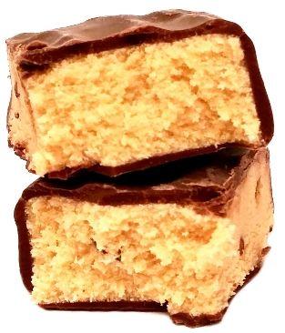 Bakalland, Vitanella Baton Protein Kakao 29% białka, baton białkowy o smaku kawowym z ziarnami kakao, zdrowe słodycze z Biedronki, copyright Olga Kublik