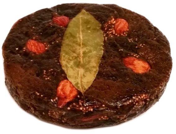 Dida Boza, Smokvenjak Organic Fig Cake with Almonds, zdrowy organiczny torcik figowy z migdałami, copyright Olga Kublik