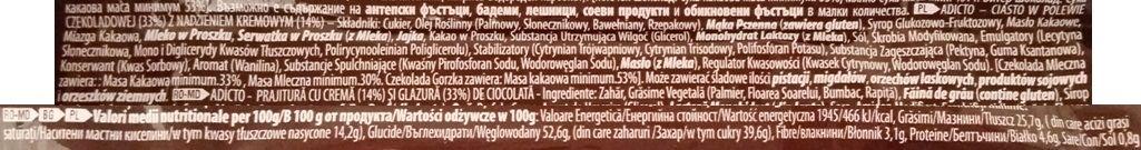 ETi, Adicto Intense, czekoladowy torcik z gęstym czekoladowym nadzieniem, brownie z kremem, skład i wartości odżywcze, copyright Olga Kublik