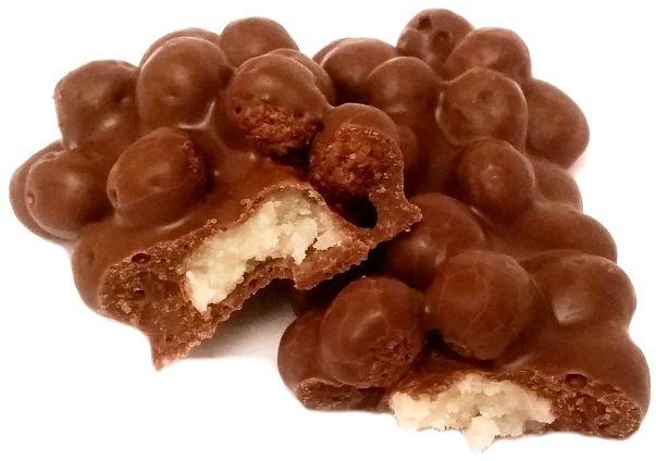 ETi, Wanted pops coconut, baton z chrupkami czekoladowymi, mleczną czekoladą i słodkim kokosowym nadzieniem, copyright Olga Kublik