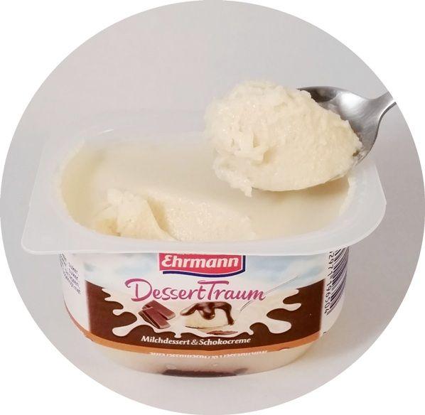 Ehrmann, DessertTraum Milchdessert Schokocreme, piankowy jogurt z sosem czekoladowym, copyright Olga Kublik