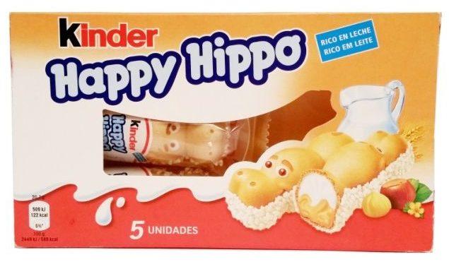Ferrero, Kinder Happy Hippo, wafle z kremem mlecznym i kremem orzechowym, copyright Olga Kublik