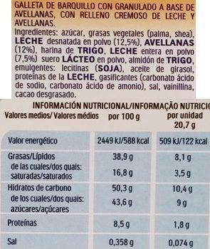 Ferrero, Kinder Happy Hippo, wafle z kremem mlecznym i kremem orzechowym, skład i wartości odżywcze, copyright Olga Kublik