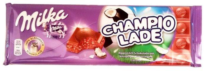 Milka, Champiolade Coconut, mleczne czekolada z wiórkami kokosowymi na mistrzostwa świata w piłce nożnej 2018, copyright Olga Kublik