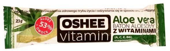 Oshee, Vitamin Aloe vera baton aloesowy z witaminami, aloesowy batonik z witaminami, copyright Olga Kublik