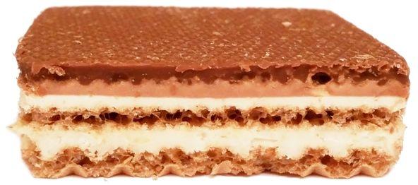 Storck, Knoppers kruchy wafelek z kremem mlecznym i kokosowym, czekoladą i orzechami, copyright Olga Kublik