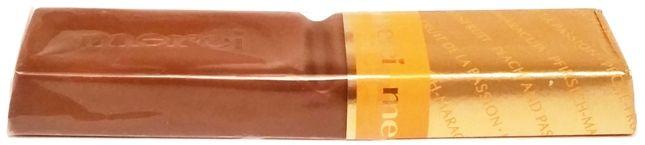 Storck, Merci Creme Frucht, czekoladka z kremem o smaku brzoskwinia marakuja, copyright Olga Kublik