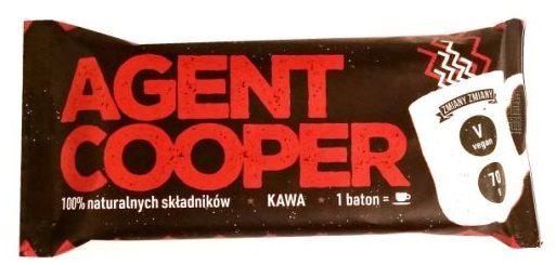 Zmiany Zmiany, wegański baton z kawą Agent Cooper, słodycze bez glutenu, raw bar, copyright Olga Kublik