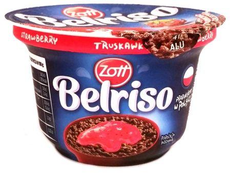 Zott, Belriso Czekolada Truskawka, czekoladowy ryż na mleku z truskawkami, copyright Olga Kublik