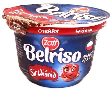 Zott, Belriso Czekolada Wiśnia, czekoladowy ryż na mleku z wiśniami, copyright Olga Kublik