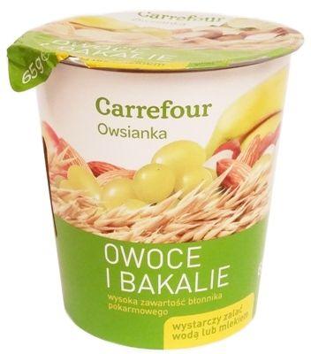 Bruggen, Owsianka Owoce i bakalie, Carrefour, copyright Olga Kublik