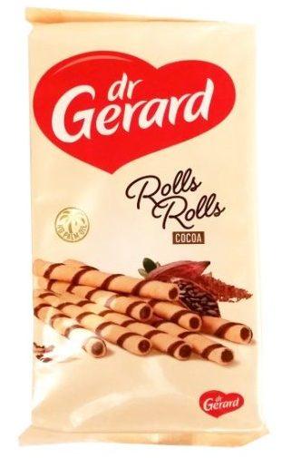 Dr Gerard, Rolls Rolls Cocoa, kruche rurki z kremem kakaowym, copyright Olga Kublik