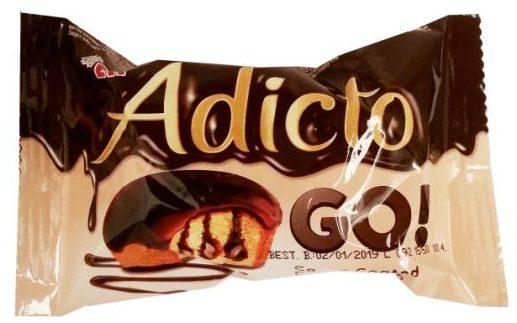 ETi, Adicto GO! Cocoa Cream, babeczka magdalenka z kremem kakaowym i polewą kakaową, copyright Olga Kublik