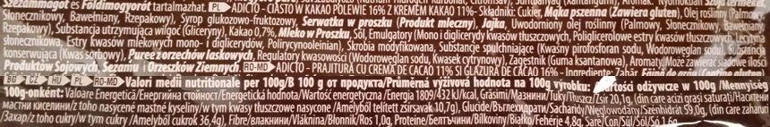 ETi, Adicto GO! Cocoa Cream, babeczka magdalenka z kremem kakaowym i polewą kakaową, skład i wartości odżywcze, copyright Olga Kublik