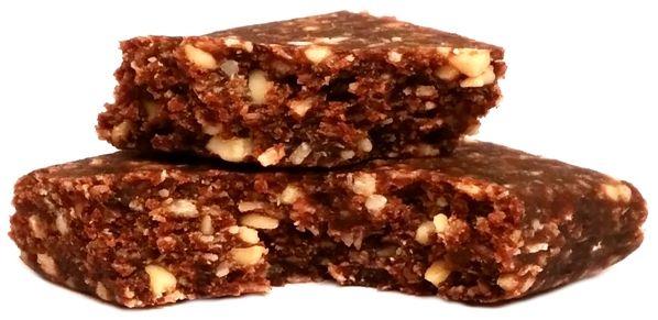 Foods by Ann, Pocket Energy Bar Banan Kakao, wegański baton z wiórkami kokosowymi od Anny Lewandowskiej, zdrowe słodycze bez glutenu i cukru, copyright Olga Kublik
