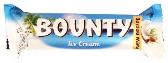 MARS, Bounty Ice Cream, baton lodowy, lody kokosowe w mlecznej czekoladzie, copyright Olga Kublik
