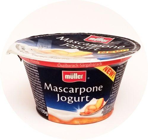 Muller, Mascarpone Jogurt Brzoskwinia-Morela, copyright Olga Kublik