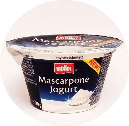 Muller, Mascarpone Jogurt delikatnie słodzony, copyright Olga Kublik