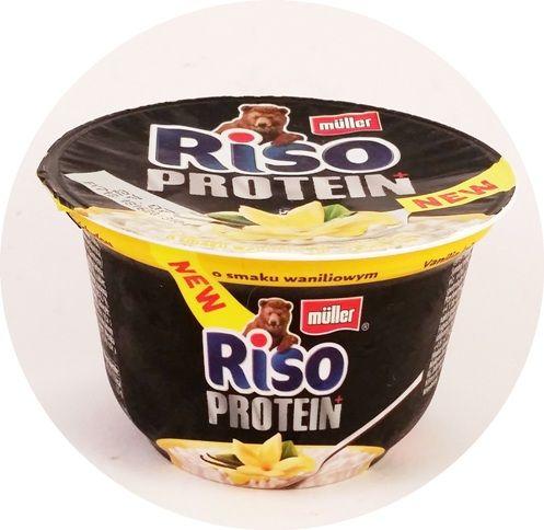 Muller, Riso Protein o smaku waniliowym, waniliowy ryż na mleku z białkiem, copyright Olga Kublik