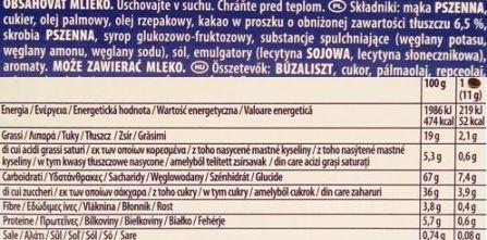 Mondelez, Oreo Choco Brownie Flavour, kakaowe herbatniki z czekoladowym kremem, skład i wartości odżywcze, copyright Olga Kublik