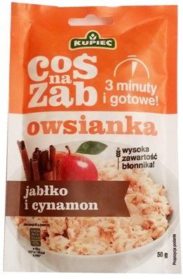 Kupiec, Coś na ząb owsianka jabłko i cynamon, copyright Olga Kublik