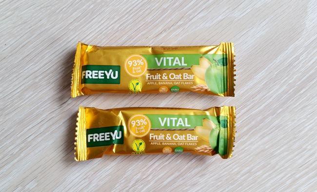 Zdrowe słodycze FreeYu wegańskie bez glutenu bez cukru