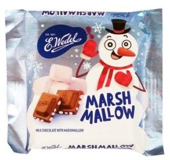 Wedel, mleczna czekolada z piankami Marshmallow, copyright Olga Kublik