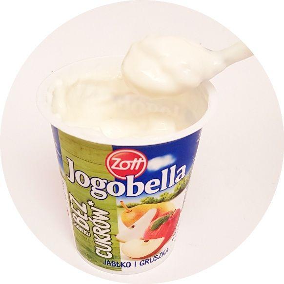 Zott, jogurt Jogobella Bez dodatku cukrów Jabłko Gruszka, copyright Olga Kublik