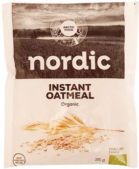 Arctic Food Nordic, Instant Oatmeal Organic, copyright Olga Kublik