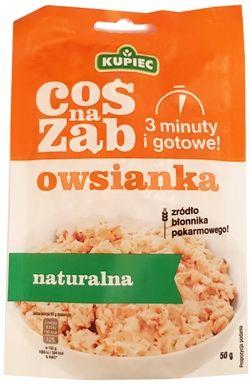 Kupiec, Coś na ząb owsianka naturalna, copyright Olga Kublik